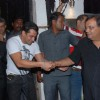 Salman Khan, Aamir Khan and Subhash Ghai at Dabangg success bash at Vie Lounge