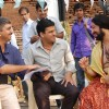 Director Ajoy, Manoj Bajpai & Ninad Kamath on the sets of Dus Tola