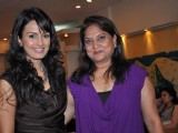 Nisha Sagar unveils her �Evening Romance�collection at her studio
