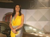 Sushmita Sen launches Fiat Linea car at JW Marriott