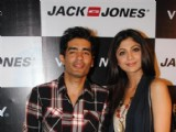 Shilpa Shetty and Manish Malhotra at Vero Moda and Jack Jones store launch in Bandra