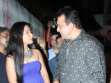 Sanjay Dutt, Tanushree and Neetu Chandra at Mokssh wine launch