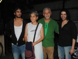 Naseruddin Shah and Prateik Babbar watch 'Allah Ke Banday'