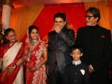 Sameer's daughter Shanchita & Abhishek wedding at Sun and Sands wedding reception