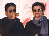 "Anil Kapoor and Sunil Shetty at Ambience Mall, in New Delhi to promote their film ""No Problem"""