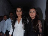 Rani and Vidya in a playful mood at Mood Indigo