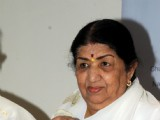 Lata Mangeshkar's calendar A Musical Journey � Lata Mangeshkar launch at her residence in Mumbai