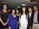 Neha Dhupia and Mandira Bedi launches Gold Gym Calendar at Bandra