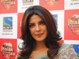Priyanka Chopra on the set of Jhalak Dikhhla Jaa during the promotion of Film 7 Khoon Maaf