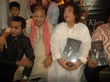 "Zakir Hussain launches album ""The Legacy"" by Ustad Sultan Khan and his son Sabir Khan"