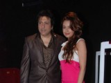 Govinda and Yuvika at Naughty @ Forty first look launch, PVR, Juhu, Mumbai