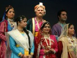 Vice Chancellor, Jamia Millia Islamia, Najeeb Jung during the play  in New Delhi