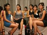 Model audition for Wills Lifestyle India Fashion Week Autumn/Winter 2011 organized by FDCI,in New Delhi