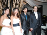 Rahul and Dimpy Mahajan's 1st wedding anniversary party