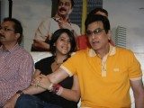 Jeetendra and Ekta Kapoor at release of Film 'Taryanche Beth'