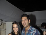 Celebrity Lockers bash for Yuvraj Singh's World Cup Success at Olive, Mahalakshmi in Mumbai