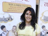 Ekta Kapoor promotes her Marathi Movie at Plaza, Mumbai