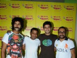 Cast of 'I AM' movie at Radio Mirchi Studio, Lower Parel