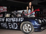 Shraddha Kapoor breaks a Jaguar for Luv Ka The End promotions
