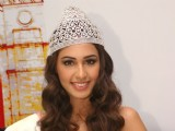 Pantoloons Femina Miss India 2011 Hasleen Kaur at the inauguration of Skoda's 3S facility in New Delhi
