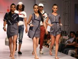 The fashion show by new graduate designers from Pearl Academy of Fashion,in New Delhi