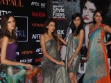 Fashion showcasing by renowned designer brand Satya Paul