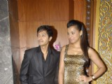 Mugdha and Shreyas at Oh God Saare Fraud launch Sea Princess