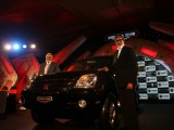 Amitabh Bachchan at the Force One SUV's car launch bash