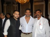 Sunil Shetty and Rajpal Yadav at Abu Azmi Eid party, Taj Hotel
