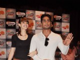 Prateik and Kalki at UTV Bindass promotional event, KC College