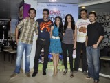 Dia Mirza and Zayed Khan launch LBZ coffee at Cafe Coffee Day Bandra, Mumbai