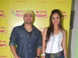 Himesh Reshammiya at 'Damadamm' promotions at Radio Mirchi