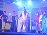 Neha Dhupia as a show stopper in 'Jaquar' bathing fashion show