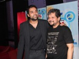 Abhay Deol and Amol Gupte at PVR Nest event, Lower Parel