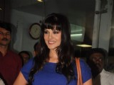 Sunny Leone arrives in Mumbai to be part of 'Bigg Boss Season 5'