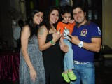Tanaaz Irani hosts a surprise party for her husband Bakhtiyaar Irani-with a stunner Cake with entire family on it