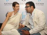 "Bollywood actress Kalki Koechlin at the unveiling of ORRA 's platinum collection ""Duets"" in New Delhi"