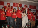 Ranbir, Prateik, Shabana, Rohit Roy, Tanvi and Perizaad at Mijwan Welfare Society press conference