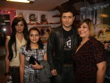 Shiney Ahuja & Julia Bliss meet fans at Berkowits to promote their film 'Ghost' at Andheri, Mumbai