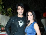 100th episode success party of tvshow 'Diya Aur Baati Hum' at hometown cafe in Juhu