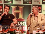 Salman Khan at the launch of HISTORY TV 18�s three initiatives in Mumbai