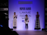 Nupur Kanoi Show at Lakme Fashion Week Summer / Resort 2012