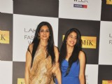 Sridevi with daughter Jhanvi among Bolly Celebs on Day 2 of the LFW Summer/Resort 2012 at Hotel Grand Hyatt in Kalina, Mumbai