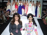 Archana Kochhar fashion show at LFW Summer/Resort 2012 at Hotel Grand Hyatt in Kalina, Mumbai