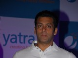 Salman Khan announced Brand Ambassador for travel portal Yatra.com at Hotel Grand Hyatt in Kalina, Mumbai