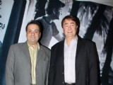 Bollywood celebrities at the premiere of film Awara at PVR