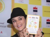 Priety Zinta at crossword for book launch eat.delete