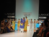 Designer Yogesh Chaudhary 2nd Day at Lakmé Fashion Week Winter Festive 2012