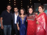 Yuvraj Singh on the sets of 'India's Got Talent'