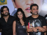 Bollywood actress Sakshi Pradhan, director Anees Bazmi at launch of Shivangi Sharma's music album 'Sexy Saiyan' at Cinemax in Mumbai
